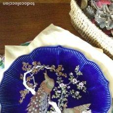 Artesanía: PLATO DE CERÁMICA JAPONESA. Lote 140129102