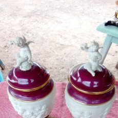 Artesanía: PAREJA DE JARRONES. Lote 140343218