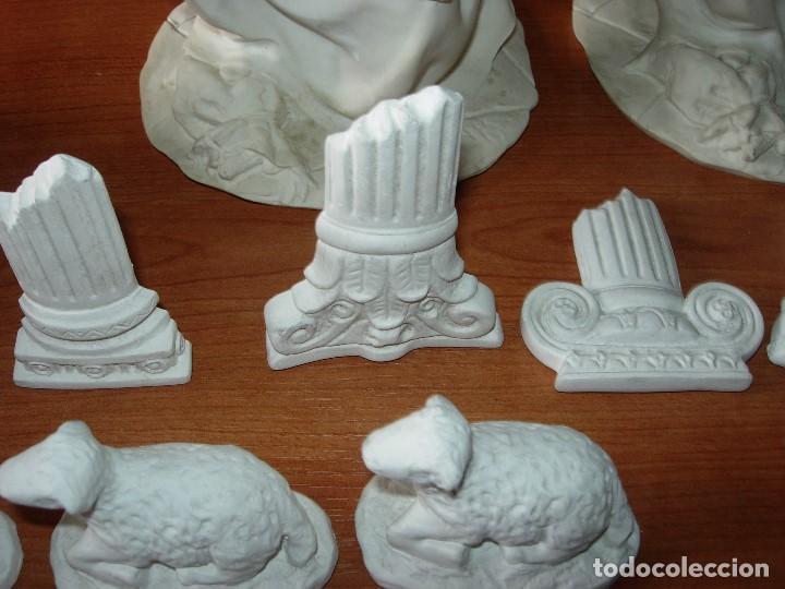 Artesanía: FIGURAS DE YESO ( LOTE FIGURAS) / PESEBRE - Foto 2 - 142301394