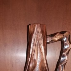 Artesanía: JARRA DE MADERA. Lote 142348430