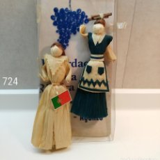 Artesanía: FIGURITAS MAIZ DE AZORES. Lote 142366490