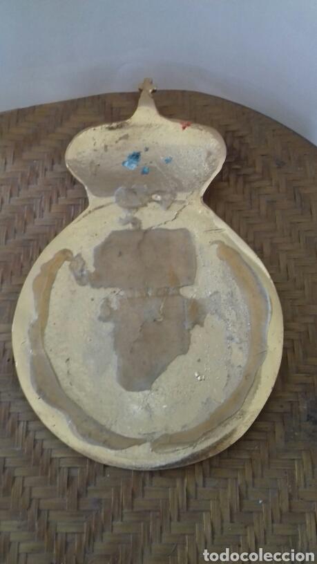 Artesanía: Escudo del Real Madrid en bronce , Esmaltado. Grande - Foto 2 - 142681752