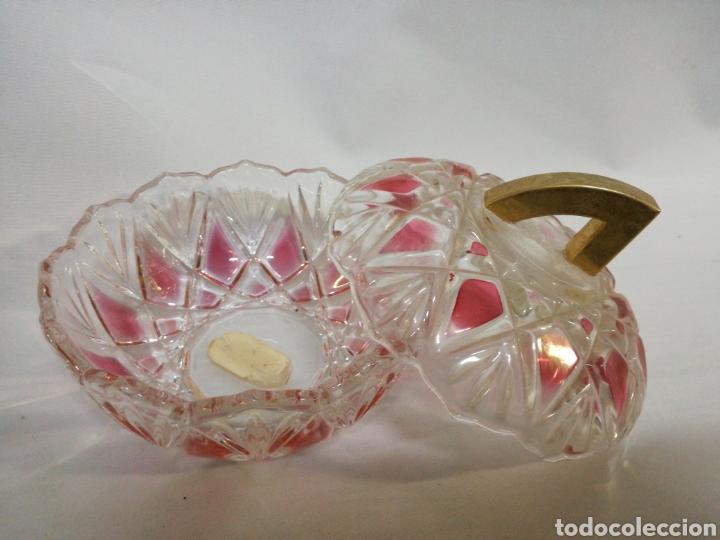 Artesanía: Bombonera vintage cristal tallado - Foto 2 - 142979841