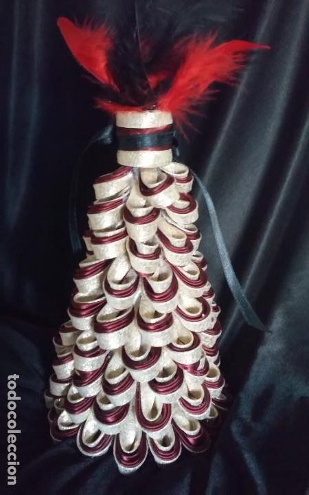 Artesanía: Elegante adorno o árbol de Navidad, artesanal - Foto 2 - 143157358