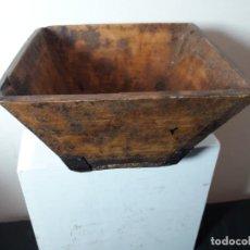 Artesanía: CUENCO DE MADERA . Lote 146076590