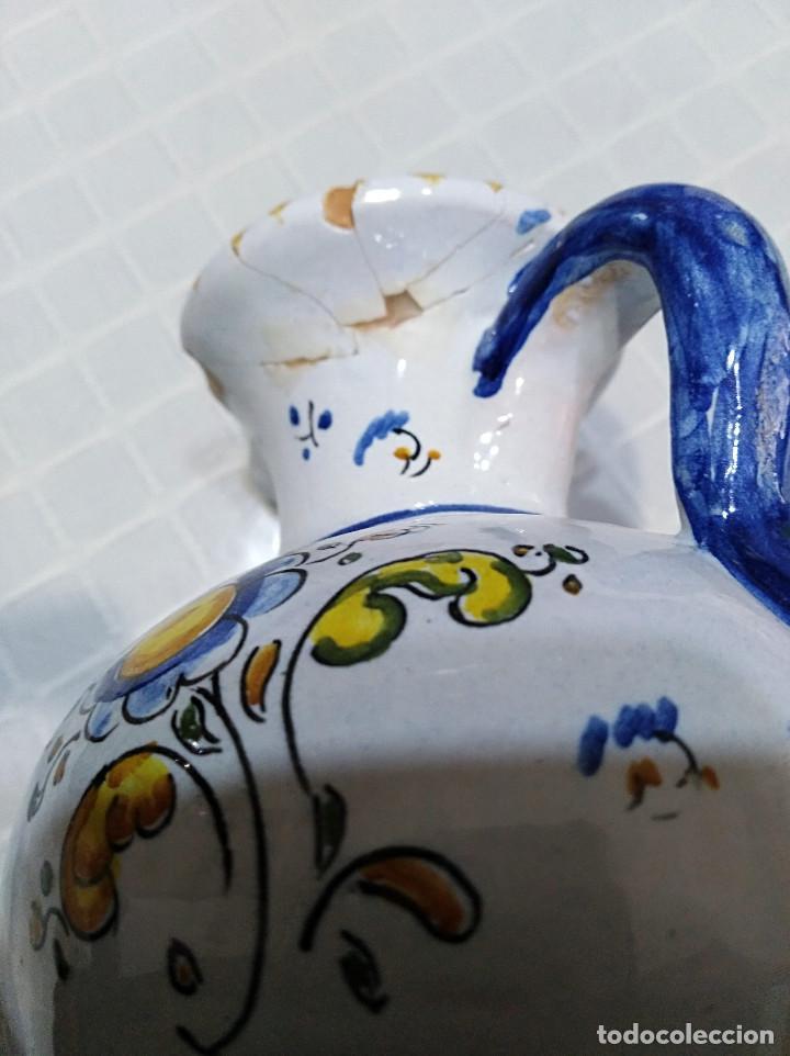 Artesanía: BONITO,LOTE - DOS JARRONES DE CERÁMICA DE TALAVERA AÑOS 50 - Foto 6 - 147689086