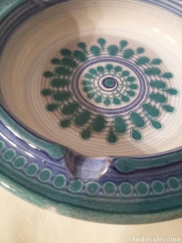 Artesanía: Plato cenicero cerámica años 1960/70 pintado a mano, PORTA CELI - Foto 4 - 147744096
