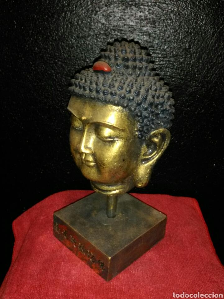Artesanía: Cabeza de Buda - Foto 2 - 151881578