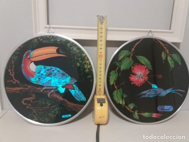 Artesanía: Dos cuadros brasileños de gran colorido. - Foto 3 - 152298626