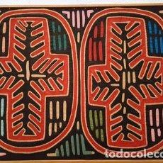 Artesanía: CUADRO TAPIZ - AZTECA O SIMILAR - TIPO TACHWORK - DE MEDIDAS - 45 CTMS X 36 CTMS ALTO . Lote 152701234