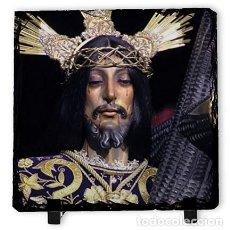 Artesanía: BALDOSA DE PIZARRA 10X10 DE NUESTRO PADRE JESÚS NAZARENO (NAZARENO DE CÁDIZ) . Lote 153208722