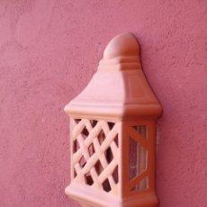 Artesanía: APLIQUE DE CERÁMICA, TERRACOTA.. CUADRADO TRENZADO, PEQUEÑO. PARA COLGAR EN LA PARED.. Lote 153327658