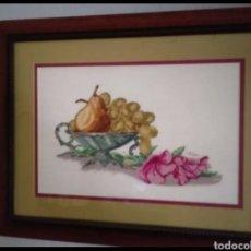 Artesanía: CUADRO PUNTO DE CRUZ. Lote 154938012