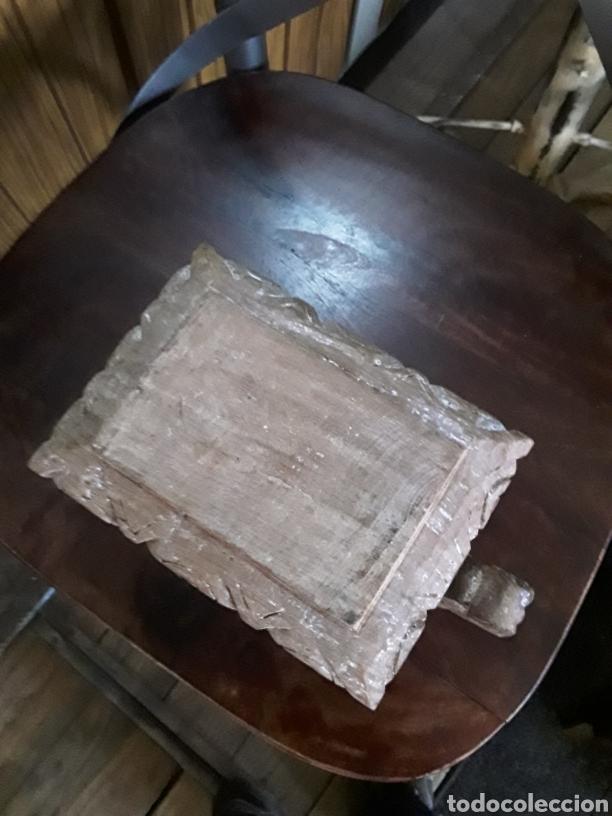 Artesanía: Caja de madera tallada - Foto 4 - 154984356