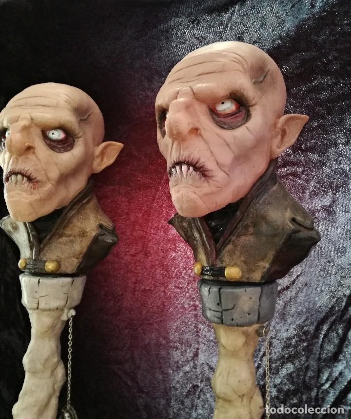 Artesanía: Busto Vampiro Nosferatu Dracula Estatua Figura Resina Peliculas Cine Clásicos Horror Monsters P:2 - Foto 2 - 84169468