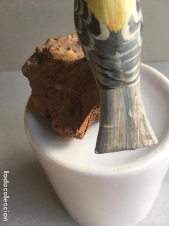 Artesanía: Pájaro madera. Pintado a mano. Artesanía - Foto 4 - 155997138