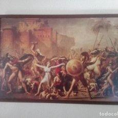 Artisanat: PUZZLE ENMARCADO Y PROTEGIDO: EL RAPTO DE LAS SABINAS 127X86CM. Lote 156660826