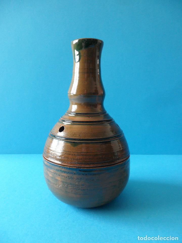 Artesanía: Sahumador o Incensario de Alfareria - Cerámica Popular - Quemador de incienso en grano - Foto 3 - 267651464