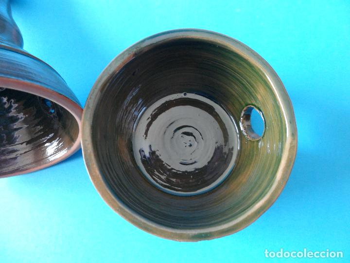 Artesanía: Sahumador o Incensario de Alfareria - Cerámica Popular - Quemador de incienso en grano - Foto 7 - 267651464