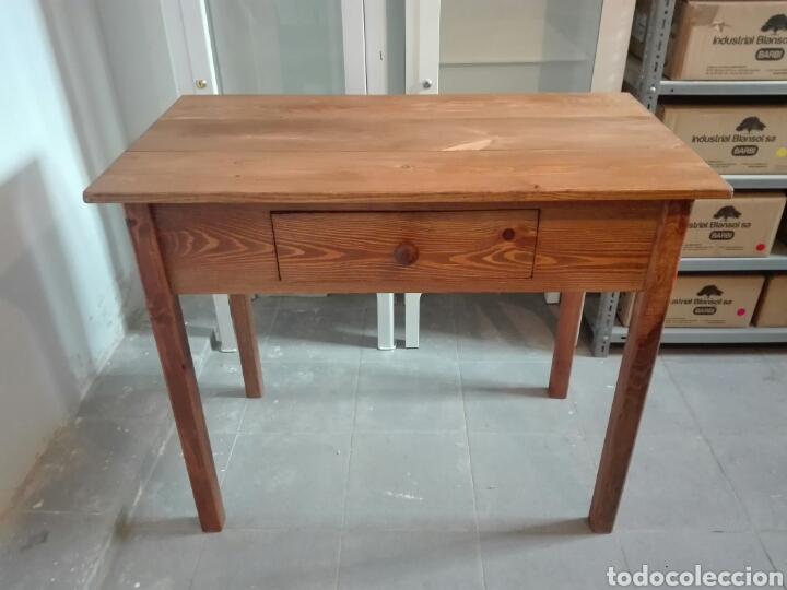 mesa cocina rustica tocinera de madera maciza. - Buy Handmade ...