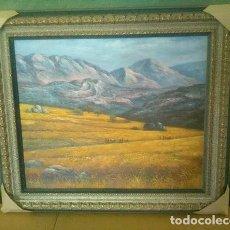 Artesanía: CUADRO PINTURA LIENZO. Lote 165648386