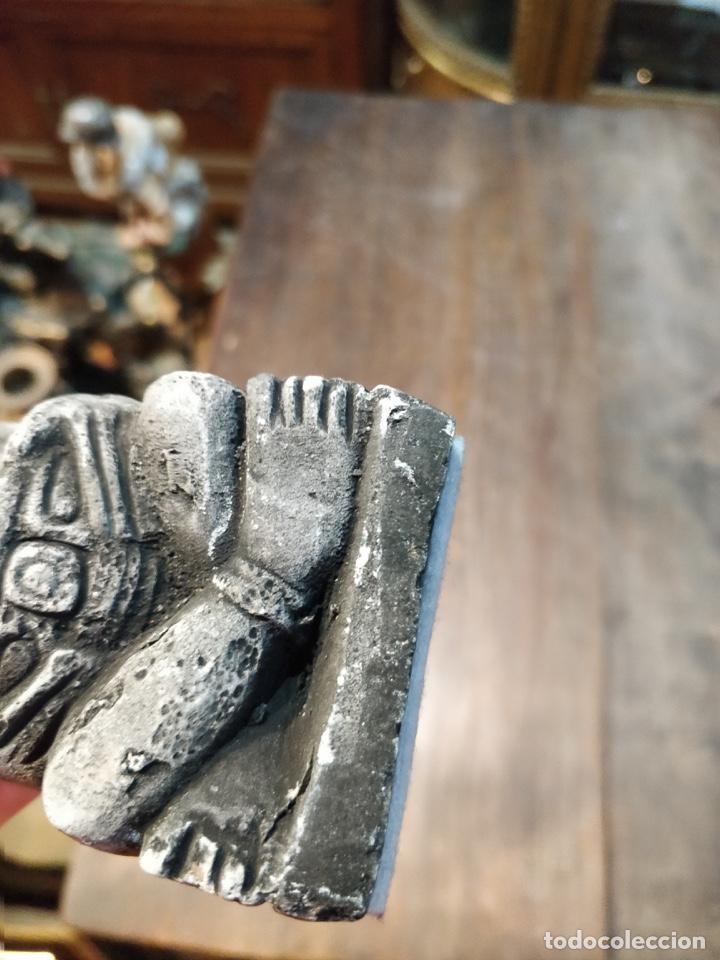 Artesanía: Figura estilo arte étnico símil piedra - 17cm de alto x 6cm ancho - Foto 5 - 168443696