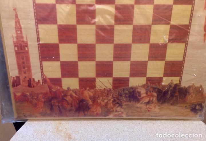 Artesanía: AJEDREZ COFRADE COMPLETO CON TABLERO ARTESANAL - Foto 4 - 168858688