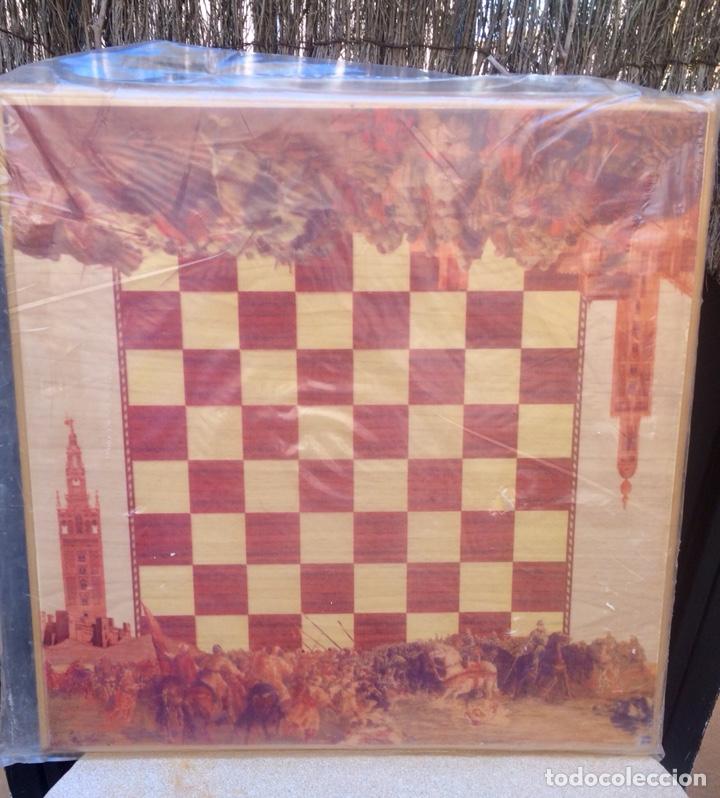 Artesanía: AJEDREZ COFRADE COMPLETO CON TABLERO ARTESANAL - Foto 5 - 168858688