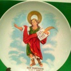 Artesanía: PLATO DECORATIVO FIGURA, SAN PANCRACIO. Lote 168912813