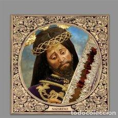 Artesanía: AZULEJO 10X10 DE NUESTRO PADRE JESÚS NAZARENO DE ARCOS DE LA FRONTERA (CÁDIZ). Lote 169892436