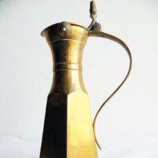 Artesanía: JARRA LATON REALIZADA EN INDIA. Lote 170891645