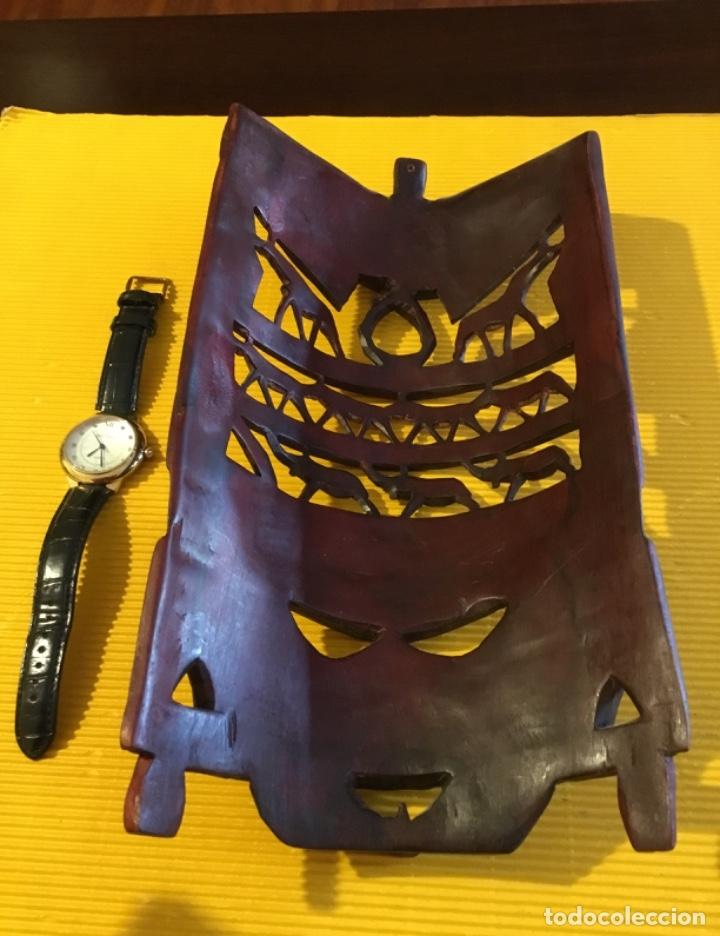 Artesanía: Antigua mascara africana tallada madera - Foto 6 - 173684647