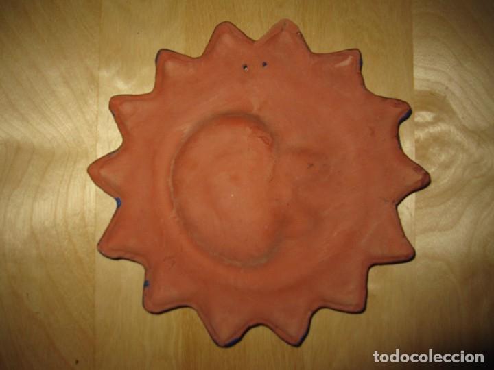 Artesanía: Adorno pared Sol Luna artesanal barro - Foto 3 - 175049978