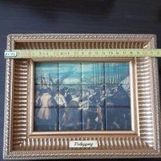 Artesanía: PEQUEÑO CUADRO REPRODUCCIÓN EN CERÁMICA DE LAS LANZAS DE VELÁZQUEZ . Lote 176489080