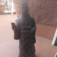 Artesanía: FIGURA GUERRERO XIAN CHINA SACERDOTE TERRACOTA ALTO 22 CM. Lote 176817735