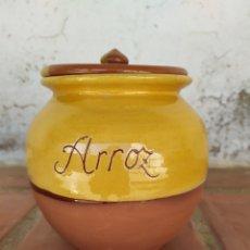Artesanía: TARRO ARROZ ☀. Lote 177239077