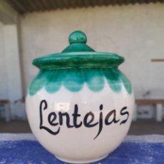 Artesanía: TARRO LENTEJAS. Lote 177298545