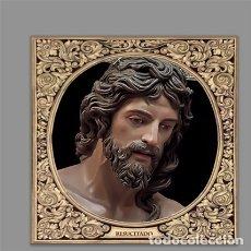 Artesanía: AZULEJO 10X10 DE NUESTRO SEÑOR JESUCRISTO RESUCITADO DEL PUERTO SANTA MARÍA (CÁDIZ). Lote 178264315