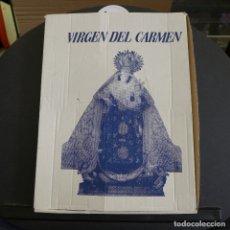 Artesanía: CUADRO CON IMAGEN DE LA VIRGEN DEL CARMEN EN METAL EN SU CAJA ORIGINAL. Lote 180028531