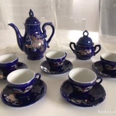 Artesanía: JUEGO DE CAFÉ PORCELANA JAPONESA. Lote 180253270