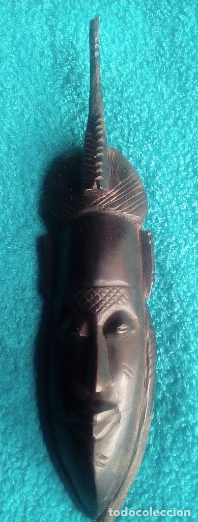 Artesanía: Pareja africana en madera muy antigua (principios del s. XX) - Foto 2 - 180920872
