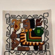 Artesanía: FUNDA DE COJÍN ARTESANAL, HECHO A MANO EN PERU. Lote 183576151