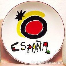 Artigianato: PLATO DE CERAMICA SERIGRAFIADO - ESPAÑA (JOAN MIRO). 34,5CM. - PLATO-002. Lote 184650783