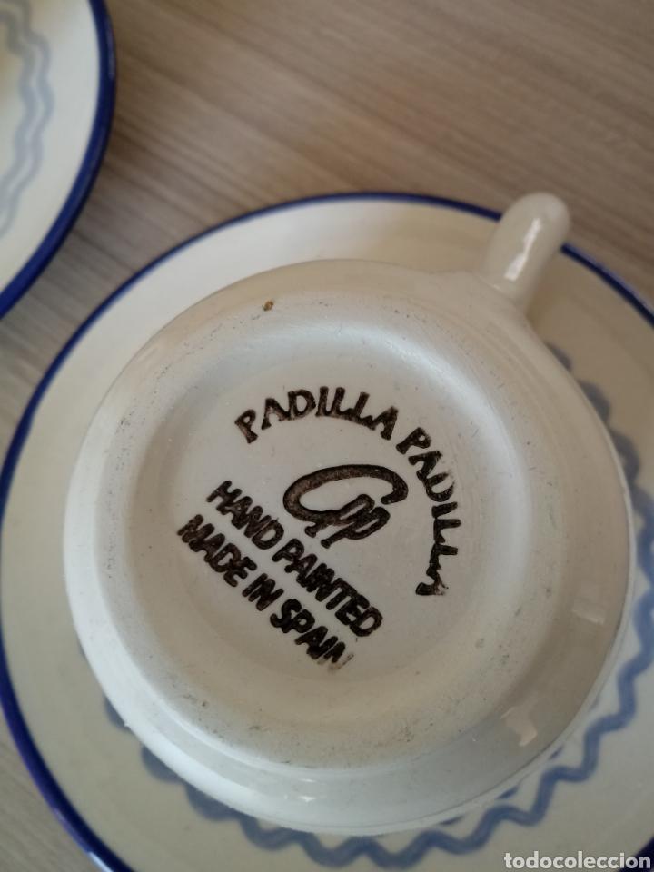 Artesanía: Juego de 2 tazas grandes con motivos marinos - Foto 3 - 184718568