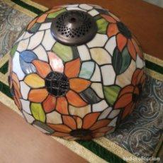 Artesanía: ESPECTACULAR LAMPARA PLAFON DE TIFFANY. Lote 184917342