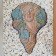 Artesanía: RELIEVE DE 33 X 21 CM. FIGURA DECORATIVA. Lote 193915928
