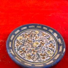 Artesanía: PLATO CERÁMICA. Lote 194316145