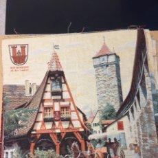 Artesanía: TAPIZ DE TELA DE DUENDE. Lote 194778987