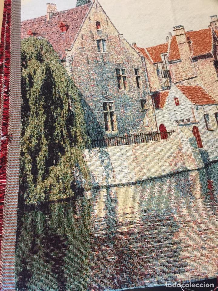 Artesanía: Tapiz de tela de duende - Foto 3 - 194779506