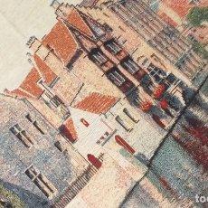 Artesanía: TAPIZ DE TELA DE DUENDE. Lote 194779506